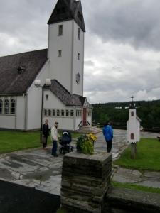 Plasen för de flesta kyrkbesök i påsk, Tärna kyrka