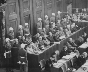Bild 1 - Från Nürnbergrättegången efter Andra Världskriget