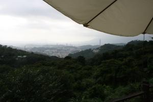 Utsikt från Maokong mot Taipei City