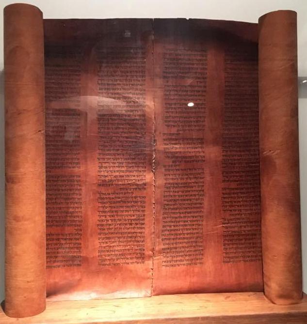 Pergamentrulle hebreiska Lutherresa